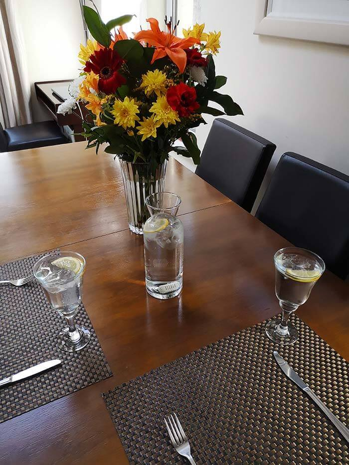 Stay Pure Water Purifier Dining Table