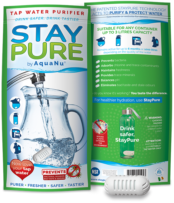StayPure Pouch and Capsule