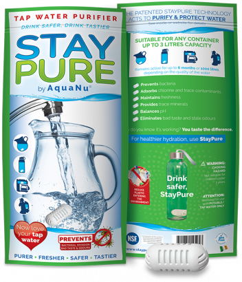 Stay Pure Capsule & Pouch